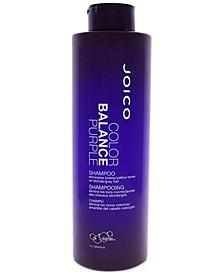 Color Balance Purple Shampoo, 33.8-oz., from PUREBEAUTY Salon & Spa