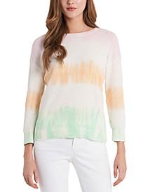 Cotton Ombré Stripe Sweater