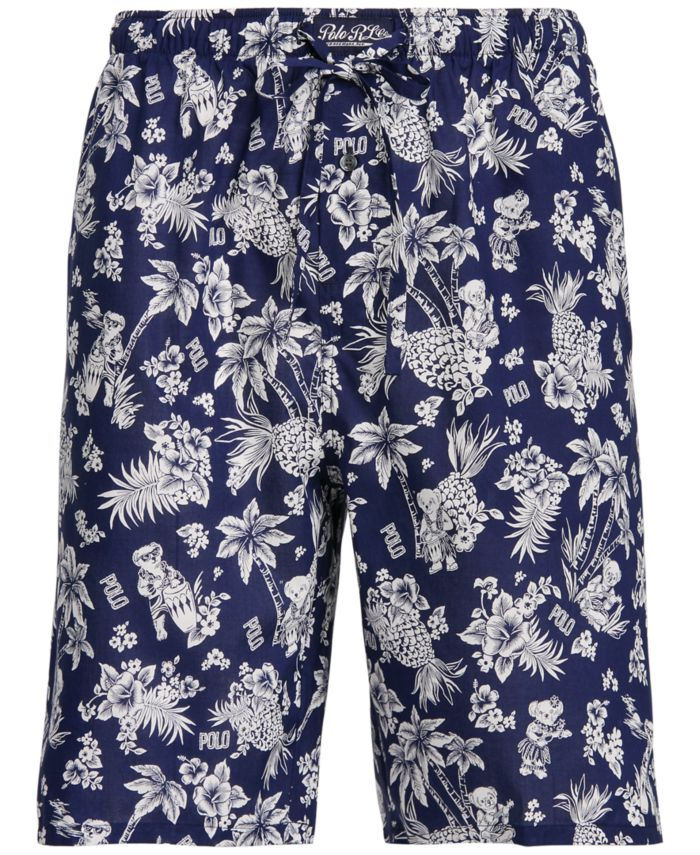 Polo Ralph Lauren Men's Tropical Pajama Shorts & Reviews - Pajamas & Robes - Men - Macy's
