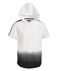 Big Boys Dazed Dip-Dyed Hooded T-Shirt