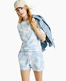 Lightweight Tie-Dyed Sweatshirt, Created for Macy's
