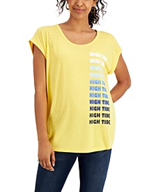 High Tide Graphic T-Shirt, Created for Macy's