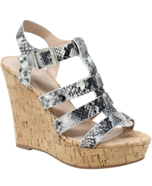 Charles By Charles David Wedges WOMEN'S ARBOR WEDGE SANDALS WOMEN'S SHOES