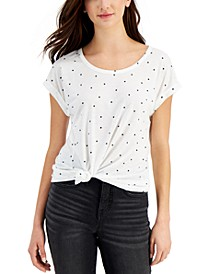Star Print Graphic Tee, Created for Macy's