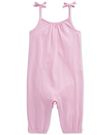 Baby Girls Stretch Jersey Romper