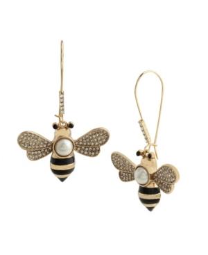 Bee Dangle Earrings