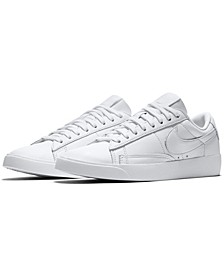 Women's Blazer Low LE Casual Sneakers from Finish Line