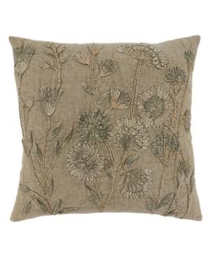 """Saro Lifestyle Pillows THROW PILLOW, 20"""" X 20"""""""