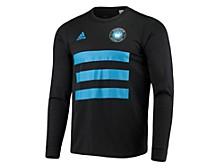 Charlotte FC Men's Three Stripe Life Pitch Creator Long Sleeve T-Shirt