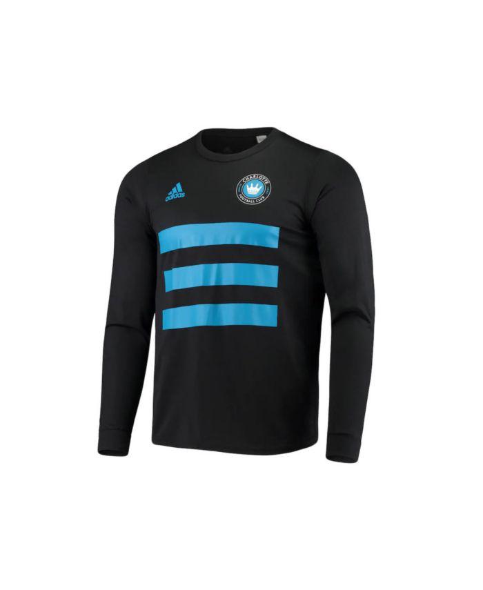 Adidas Charlotte FC Men's Three Stripe Life Pitch Creator Long Sleeve T-Shirt & Reviews - Soccer - Sports Fan Shop - Macy's