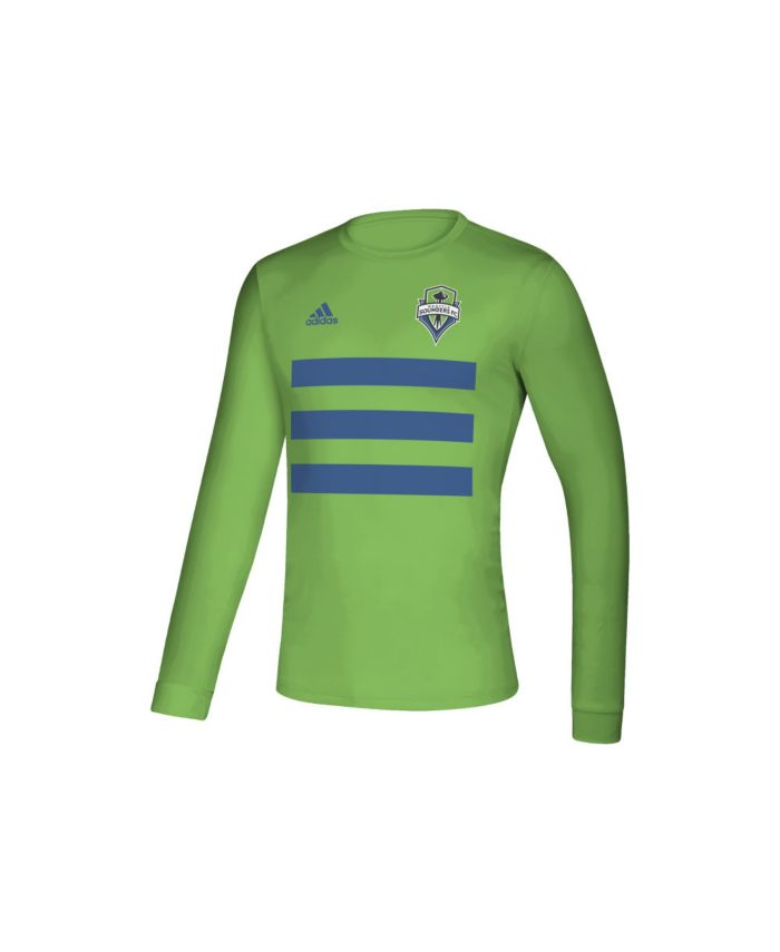 Adidas Seattle Sounders Men's Three Stripe Life Pitch Creator Long Sleeve T-Shirt & Reviews - Soccer - Sports Fan Shop - Macy's