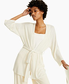 Ribbed Belted Cardigan, Created for Macy's