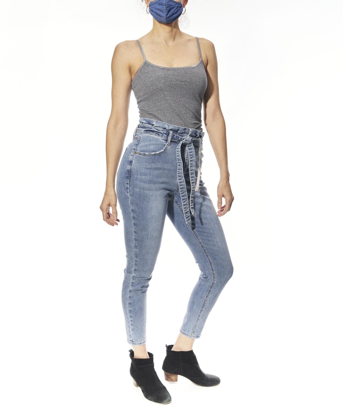 Women's Paperbag Waist Jeans