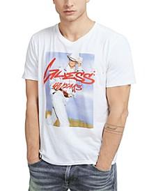 Men's Western Graffiti T-Shirt
