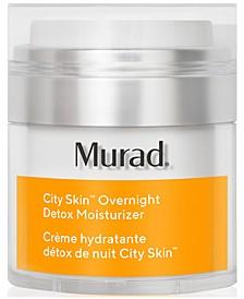 City Skin Overnight Detox Moisturizer, 1.7 fl. oz.