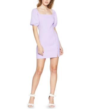 Bcbgeneration Mini dresses BCBGENERATION JUNIORS' PUFF-SLEEVE MINI DRESS