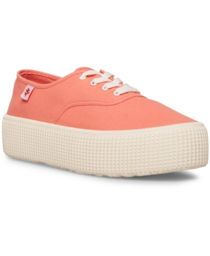 Women's Stream Flatform Lace-up Sneakers