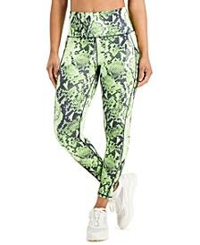 Women's Sandra Snake Printed Leggings, Created for Macy's