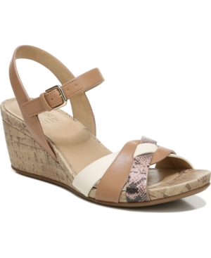 Naturalizer ADELINA WEDGE SANDALS WOMEN'S SHOES