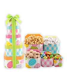 Egg Cellent Easter Tower Gift Basket
