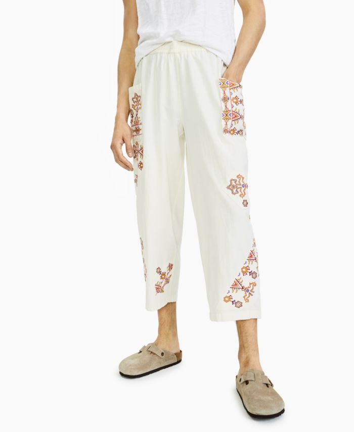 INC International Concepts INC Men's Cotton Pull-On Pants, Created for Macy's & Reviews - Pants - Men - Macy's