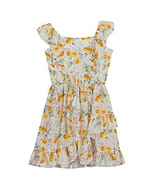 Big Girls Printed Cotton Dress