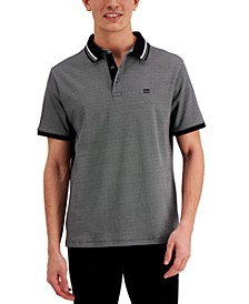 Men's Orchard Classic-Fit Geo-Print Polo Shirt, Created for Macy's