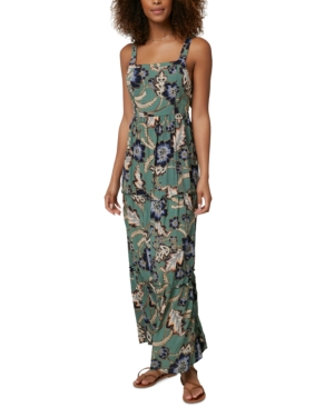 O'neill Maxi dresses O'NEILL MAXWELL PRINTED WOVEN TANK MAXI DRESS