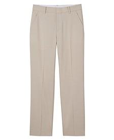 Big Boys Stretch Micro Texture Pants