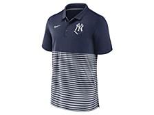 Men's New York Yankees Icon Stripe Polo Shirt