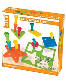 Lauri Tall-Stacker - Smart Shapes Early Learning Toy