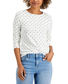 Dot-Print Top, Created for Macy's