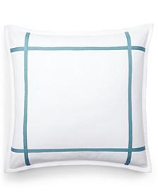 "Eden Frame 18"" Square Decorative Throw Pillow"
