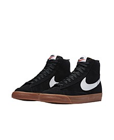 Men's Blazer Mid 77 Casual Sneakers from Finish Line