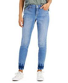 Petite Curvy-Fit Skinny Ankle Jeans, Created for Macy's
