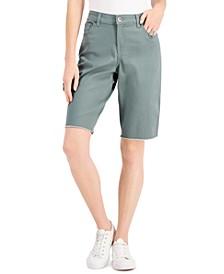Raw-Hem Bermuda Shorts, Created for Macy's