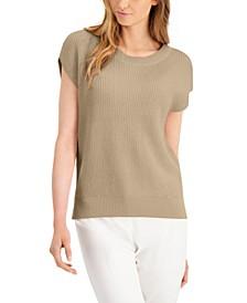 Petite Cap-Sleeve Sweater, Created for Macy's