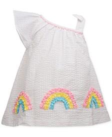 Baby Girls Rainbow Seersucker Dress
