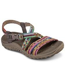 Women's Reggae - Sew Me - Boho Woven Athletic Sandals from Finish Line