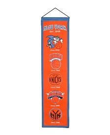 Winning Streak New York Knicks Heritage Banner