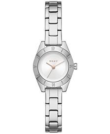 Women's Greene Three-Hand Stainless Steel Watch, 24mm
