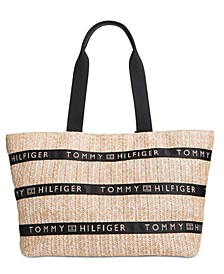 Caroline Paper Straw Tote, Created for Macy's
