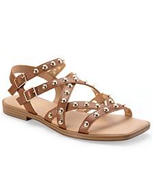 Angela Stud Gladiator Sandals, Created for Macy's