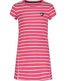 Big Girls Stripe Tee Dress