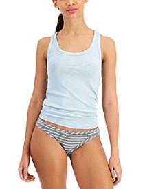 Ribbed Tank Top & Bikini Underwear, Created for Macy's