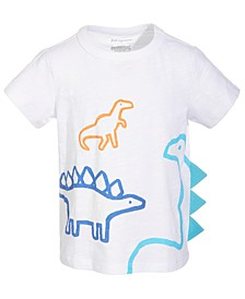 Baby Boys 3 Dinos Cotton T-Shirt, Created for Macy's