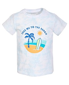 Baby Boys Take Me To The Beach Cotton T-Shirt, Created for Macy's