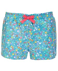 Toddler Girls Floral Bloom Cotton Shorts, Created for Macy's