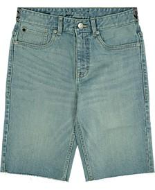 Big Boys Denim Logo Shorts