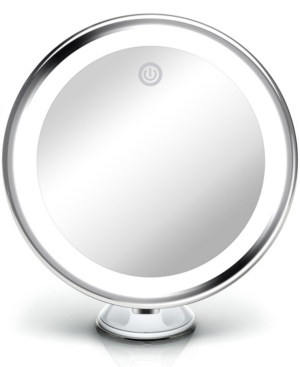"""Luna 6"""" Magnifying Mirror 10x with Dimmable Light"""